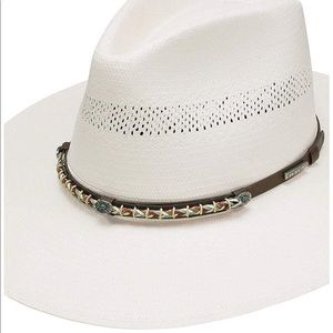 STETSON NATURAL 10X LEXINGTON STRAW HAT